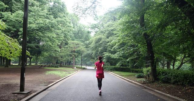 代々木公園のたくさんの緑に囲まれたランニングで心も体もリフレッシュ