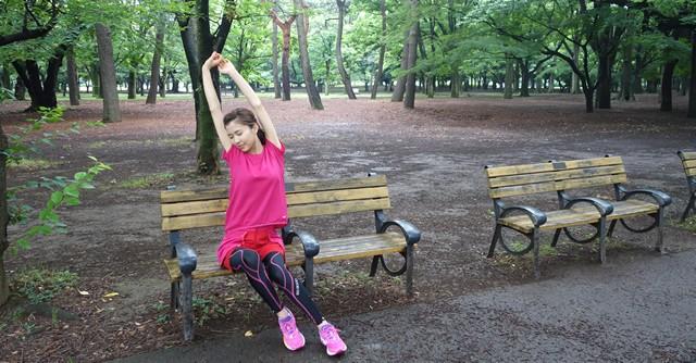 大満足の代々木公園ランでした