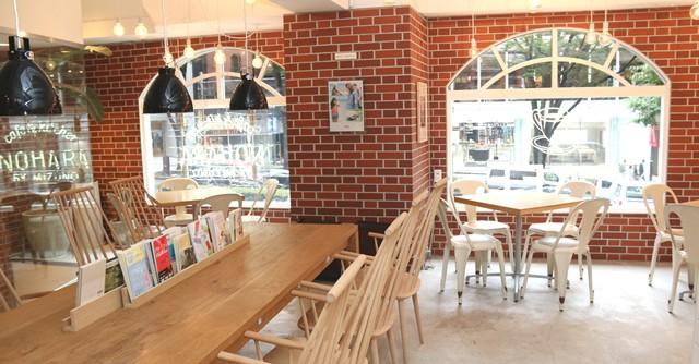 NOHARAのもうひとつの顔、それはこのカフェなのです
