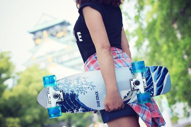 浮世絵デザインのスケートボード発売 古今東西ストリートカルチャーがMIX