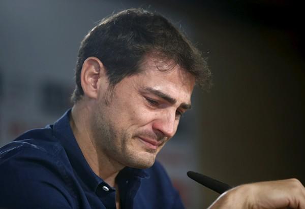 カシージャスは15年間もゴールマウスを守り続けてきたレアル・マドリーに別れを告げた