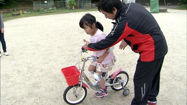 果たして苺花ちゃんは自転車に乗ることができたのか!?