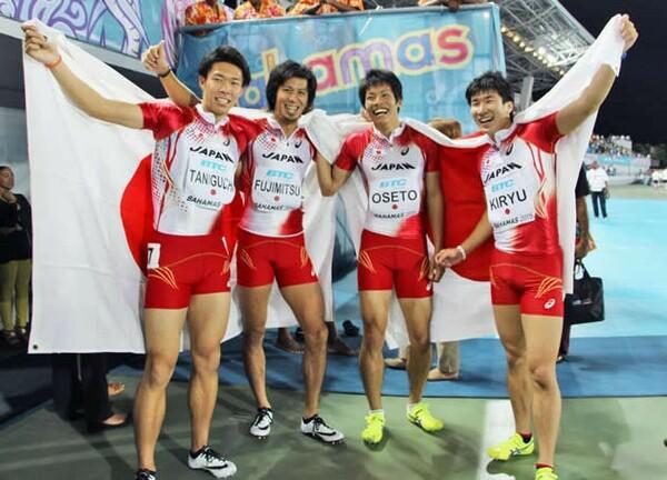 """日本の""""お家芸""""400メートルリレーの強さの秘訣を苅部俊二短距離部長が語った"""