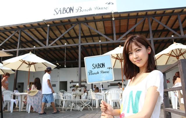 原田ゆかと行く東京ランステ巡り(7) SABON Beach House