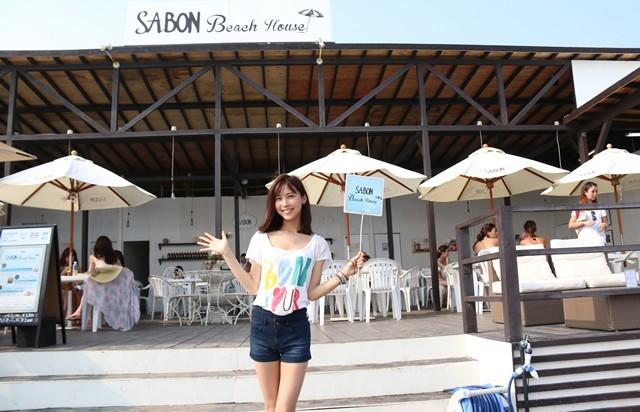 オープンは8月31日まで、由比ヶ浜に訪れた際にはぜひSABON Beach Houseまで