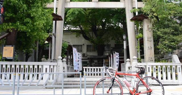 東京23区、自転車ライドの軌跡で描く将門の北斗七星