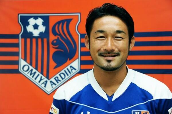 FC東京時代はサポーターから大いに愛されていた塩田。新たなチャレンジの場を求めて大宮に
