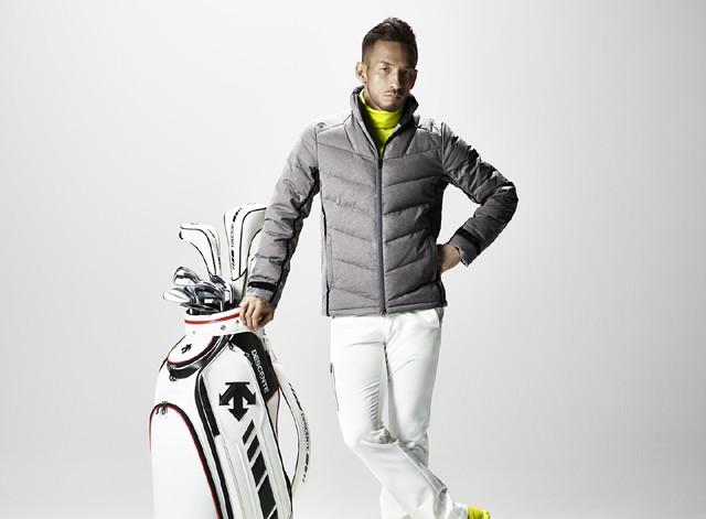 """""""大人ゴルファー""""のためのゴルフウェア 中田英寿さんが着る最新ビジュアルを公開"""