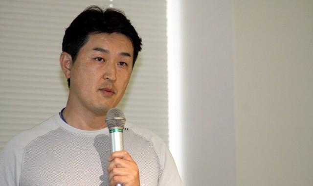 開発に携わったスポーツトレーナーの森本貴義氏