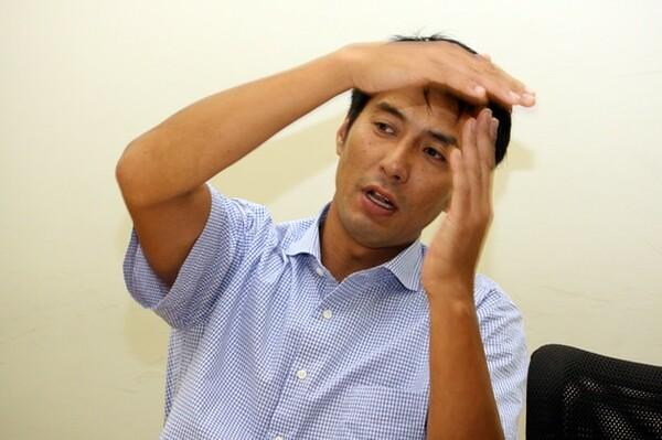 山本さんはスパイクをガムシャラに打つのではなく、ブロックを見極めて打つことが重要だと語る