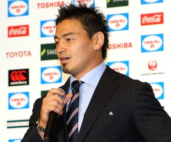 ワールドカップは「非常に楽しく、最高の時間だった」と話す五郎丸歩