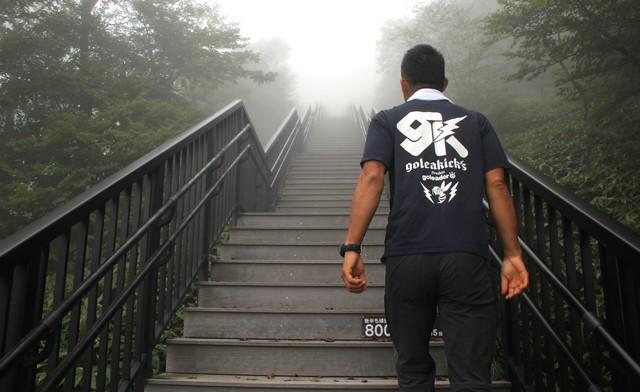 1445段「天空回廊」を登ってみた 爽快! 霧降高原のキスゲ平