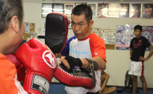 42歳でキックボクシングのプロデビューをした齊藤秀次さんといっしょに登ってきました