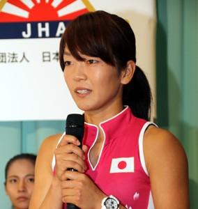 4大会連続の五輪出場へ、中川は覚悟を決めて臨む