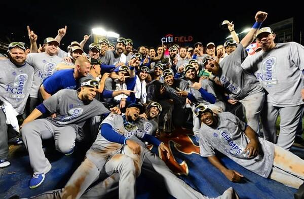 MLB史上に残る勝負強さで30年ぶりワールドシリーズを制したロイヤルズ
