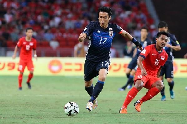 シンガポール戦で新しい選手たちが活躍したことについて、長谷部は「競争が生まれる」と語った