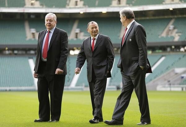 エディーHCが率いるイングランド代表は来年2月に初戦を迎える