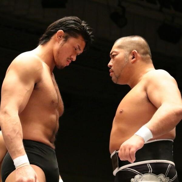 まさかNEVERのベルトを懸けた戦いになるとは思っていなかったと話す柴田