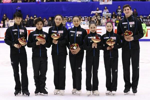 世界選手権の日本代表に選出された選手らが意気込みを語った