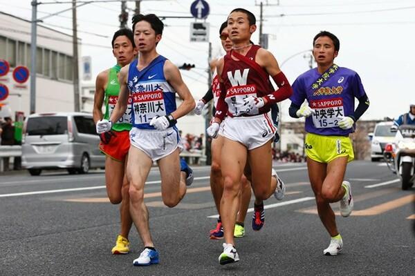 早稲田大は高田康暉(右から2人目)の調子次第では、優勝争いに食い込んできそうだ