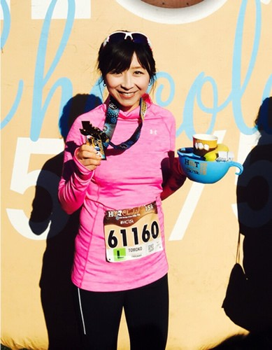 走る皮膚科医・小林智子さん、ほぼ毎日5キロ以上ランニングしています!