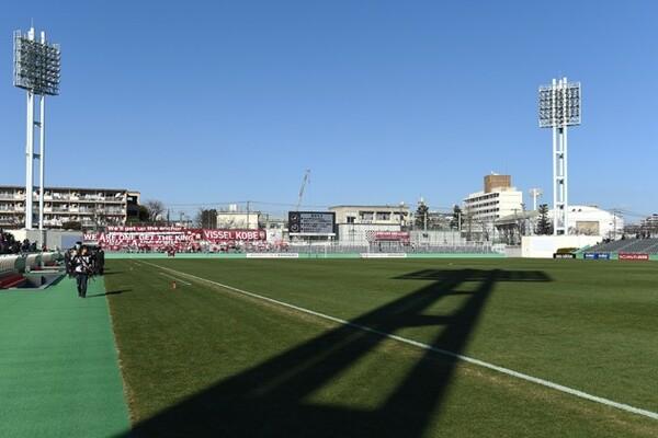 FC東京U−23は味の素フィールド西が丘(写真)や江東区夢の島競技場でホームゲームを戦う。集客や広報宣伝活動、試合運営といった問題もクリアしなければならない