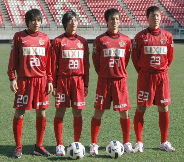 2011年に加入した4人の背番号には、彼らに期待するクラブの思いが込められていた
