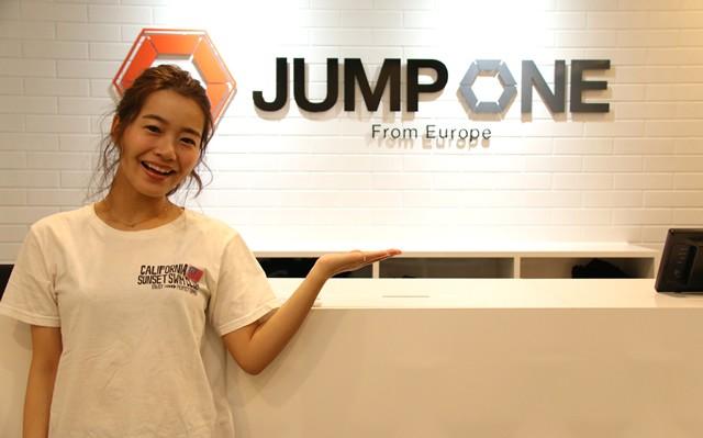 日本初上陸のトランポリン+音楽+照明演出のフィットネス「JUMP ONE」を、モデルの猪鼻ちひろさんが体験取材!