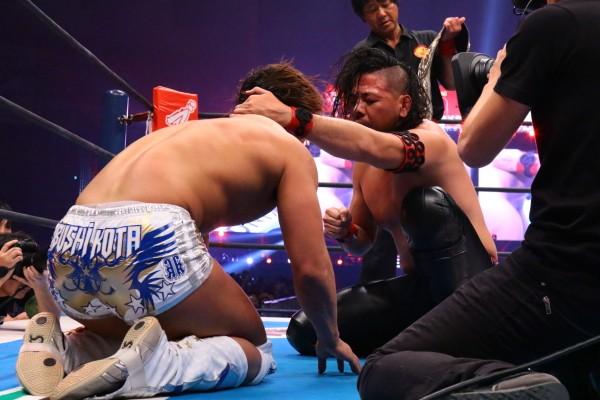 WWEへ移籍した中邑との再戦は「可能性はゼロではない」と思っている