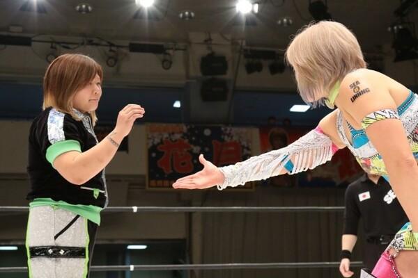 奈七永との握手を拒否。馴れ合いではない戦いに気合が入る