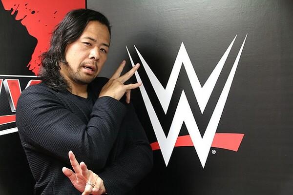 4月1日のWWEデビュー戦に向け、渡米前の中邑に単独インタビューを行った