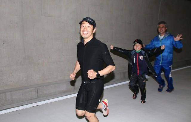 安田大サーカス団長も「めっちゃ気持ちいい!」と東京港トンネルコースを絶賛