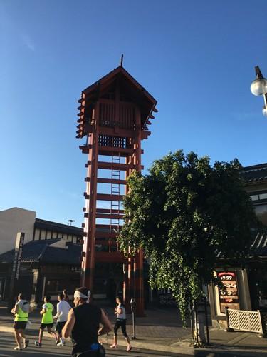 日本料理屋が立ち並ぶリトル東京もロサンゼルスマラソンのコースに含まれる。