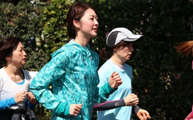 これからはちゃんとメークして走ろうと誓った梨子さん、世のランガールもぜひ!