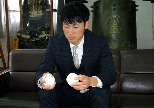 「自分で自分に必要な練習をする準硬式をやっていたから、僕はプロに行けました」と大学時代を振り返る神田