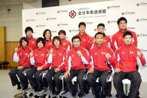 意気込みを語った柔道日本代表の12選手