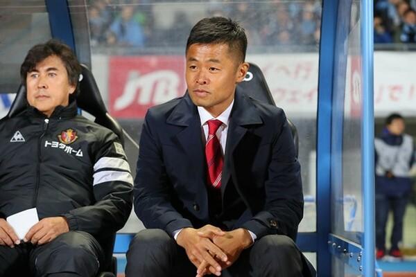 名古屋の小倉隆史GM兼監督の目指すサッカーのキーワードは「『何でもできる』が強み」だ