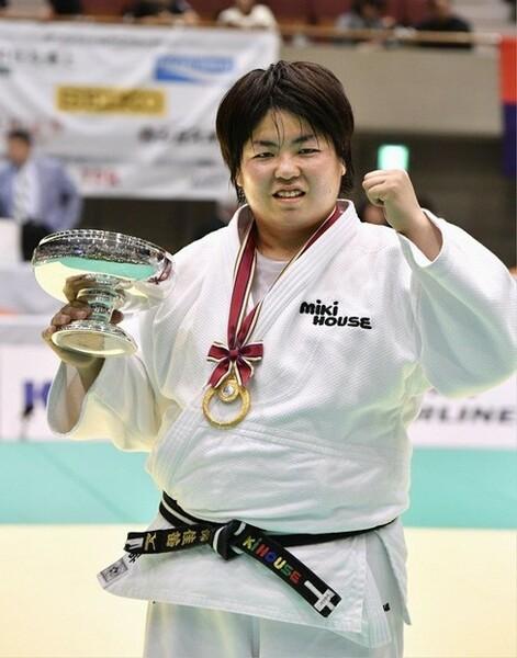 柔道女子78キロ超級のリオ五輪代表に選出された山部