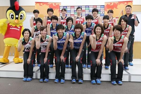 14日に開幕するリオ五輪世界最終予選に向け、全日本女子メンバーが意気込みを語った