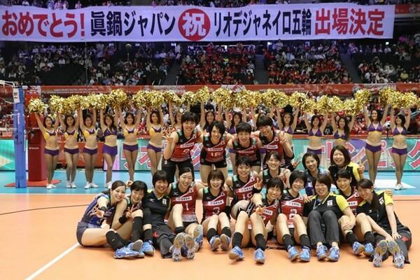 イタリア戦でフルセットの末に敗れた日本は、1ポイントを獲得し、リオ五輪の出場権を獲得した
