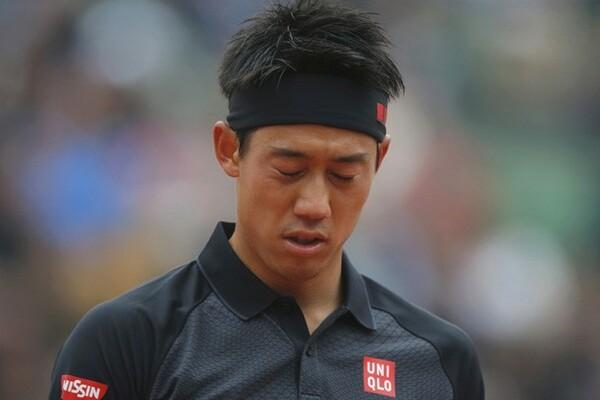 好調を維持していた錦織圭(写真)だったが、全仏オープンは4回戦敗退となった