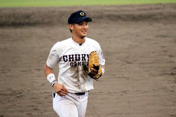 自身の野球人生初の全国大会に挑む中京学院大・吉川。高い身体能力を生かしたプレーで、同校OBの広島・菊池以上とも言われる野球センスの持ち主だ
