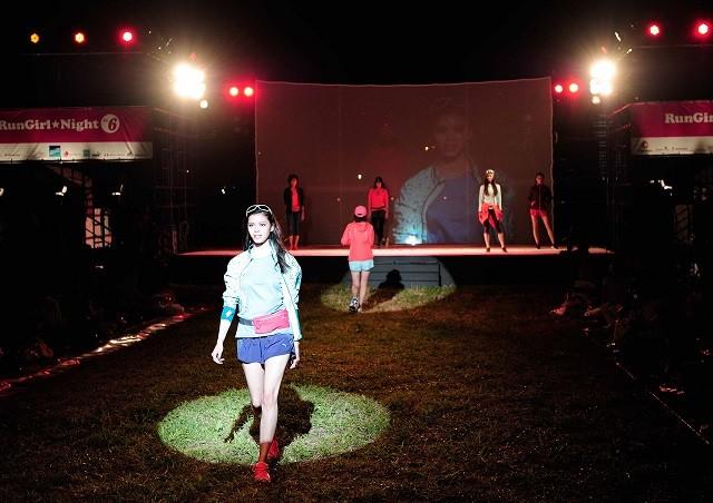 写真は昨年の「RunGirl★Night Vol.6」の様子