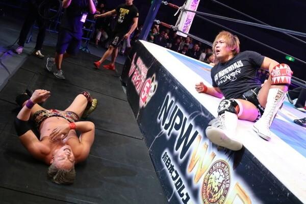 内藤がベルトを持つことでIWGP王座戦らしくない戦いが続く。オカダはその状況に終止符を打ちたい