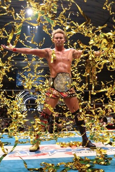 オカダは再びIWGPのベルトを腰に巻き、大阪城にカネの雨を降らせることができるか!?