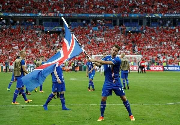 人口わずか33万人の北欧の島国、アイスランドがユーロで大躍進を遂げている