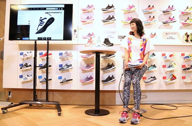 榮倉さんのように「mi adidas(マイ アディダス)」でオリジナルシューズを作ってみるのも面白いかも?