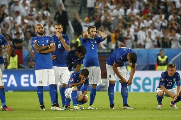 PK戦での準々決勝敗退という結果に、イタリアメディアはコンテ監督とチームの健闘をたたえた