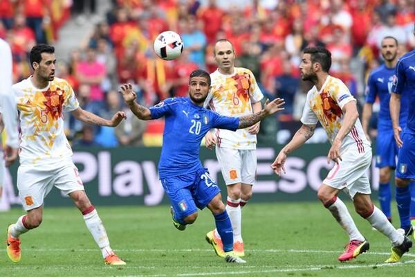 グループステージのベルギー戦、ラウンド16のスペイン戦(写真)は「戦力で勝る相手を戦術でねじ伏せた」という意味で、まさに真骨頂とも言える試合