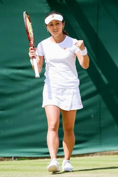 ウィンブルドンで日本女子10年ぶりとなるベスト16進出を果たした土居美咲。躍進の陰には新コーチの存在があった